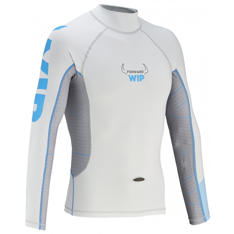 Long Sleeves Lycra - Grey