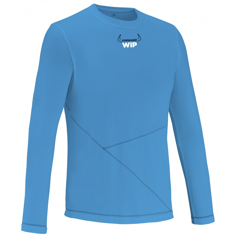 Long Sleeves T-Shirt Quick Dry - Blue