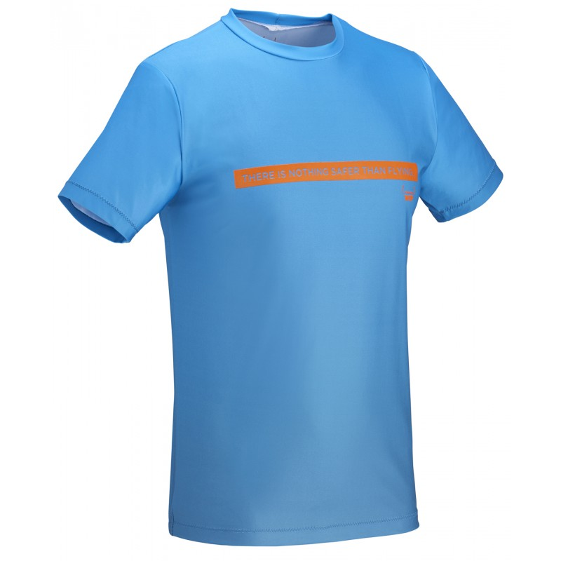 Short Sleeves T-Shirt Quick Dry - Blue
