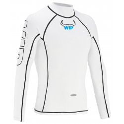 Lycra bílá  -  Long Sleeves Lycra - White